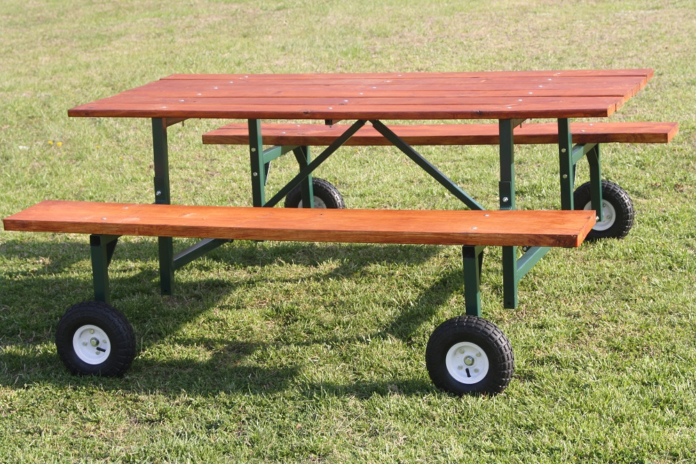 Picnic Table Kit Spectacular Goods - Picnic table steel frame kit